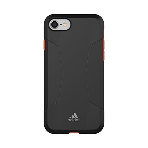 adidas - Funda Deportiva Compatible con iPhone 6/6S/7/8, Color Negro