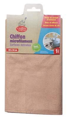Chiffon microfilament surfaces délicates - 40x50 cm