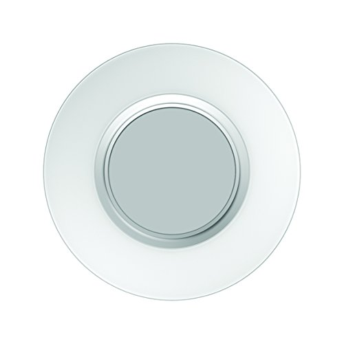 SYLVANIA General Lighting 71724 Sylvania LIGHTIFY by Osram-LED Surface Ceiling Light, Smart Home Connected, Soft Daylight (2700K-6500K), Works with Alexa (with hub), Adjustable White