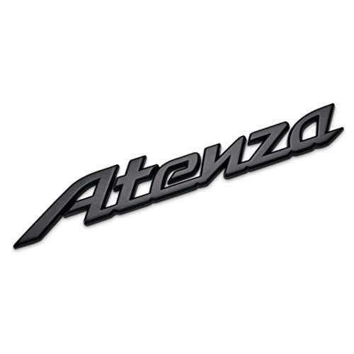 None/Brand Stemmi Emblemi Distintivo Chrome Logo Car Styling Posteriore del Tronco della Decalcomania per M-azda 2 3 6 MS3 M6 Mazdaspeed Axela JDM Cx 5 Atenza,Nero