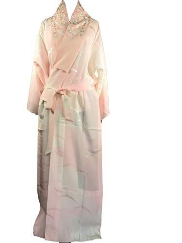 Megumi Japón, vestido de dormitorio, kimono japonés, peineta, blusa de noche, ropa de noche, ropa de noche, ropa de relajación, lencería de seda, con un diseño japonés (5)