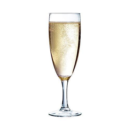 Arcoroc - 37298 - Verre de champagne - Lot de 12 - Transparent - 170 ml
