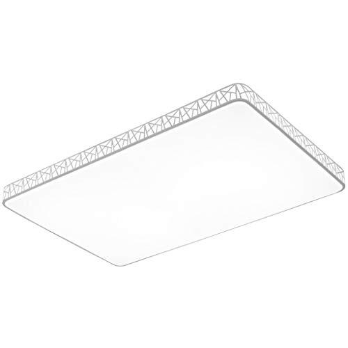 Lámpara de techo Lámpara de techo LED rectangular de montaje en descarga, lámpara de techo ajustable 72W para cocina, dormitorio, lavandería,...