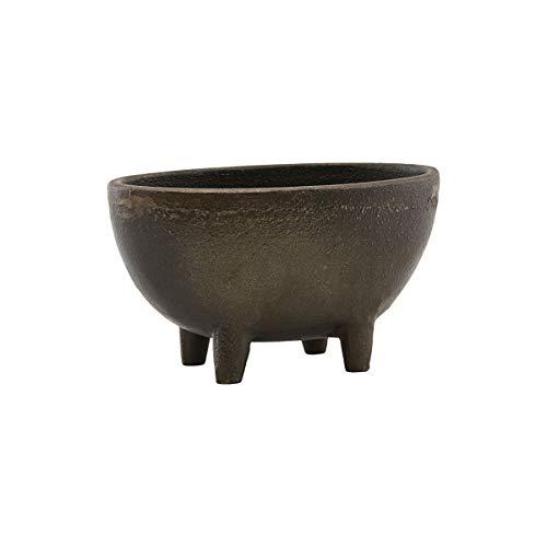 House Doctor 257930702 - Pot de Fleurs - Marron Antique - Longueur : 13,5 cm - Hauteur : 8 cm