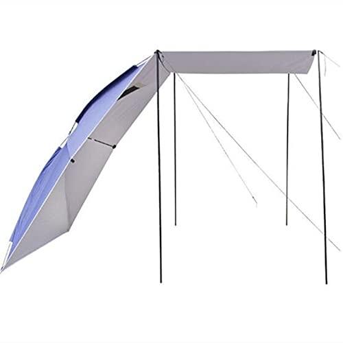 fgfg Toldos de sombrilla portátil, Tienda Trasera del automóvil con Pared Lateral, protección al Aire Libre y Camping para automóviles de Sombra, Parque, Camping al Aire Libre