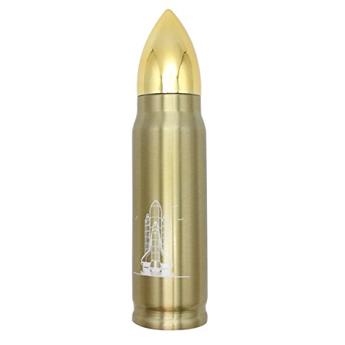 Latinaric 500 ml Edelstahl Bullet Thermosflasche Thermoskanne Isolierflasche