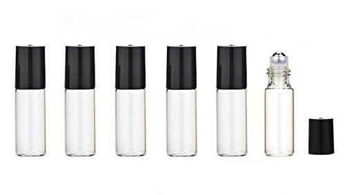Flacons d/échantillonnage de tubes de verre vides avec 24 flacons transparents avec des flacons demballage pour pipette-cosm/étique 1ml