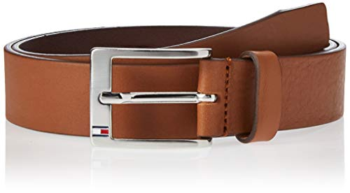 Tommy Hilfiger New Aly Belt, Ceinture Homme, Marron (Dark Tan)85cm