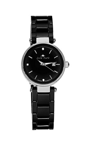 Stella Maris Damen Analog Quarz Uhr mit Keramik Armband STM17H2