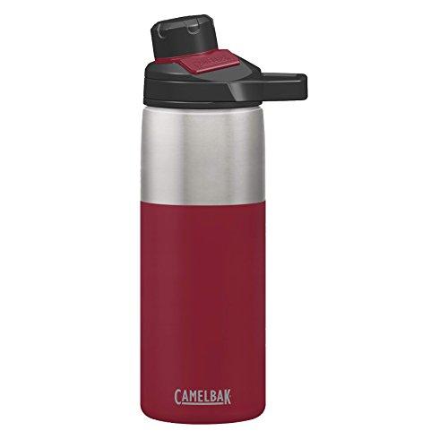 CAMELBAK Unisex– Erwachsene Mag Vacuum Trink-/Thermosflasche Chute 0,6 L, Rot, 7.5 x 7.5 x 25 cm