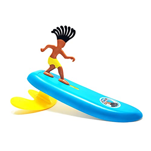 Surfer Dudes Classics Wave Powered Mini-Surfer and Surfboard Toy - Hossegor Hank