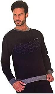 GP337 pigiama uomo lungo cotone IL GRANCHIO homewear art