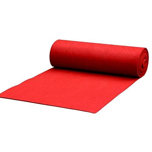 Rode Aisle Runner Lijm Strip, Touw Handvat voor Gemakkelijk Unrolling voor een mooie Walk Down The Aisle voor Bruiloften