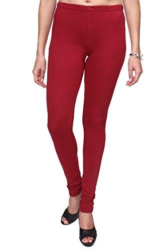 TRASA Ultra Soft Cotton Churidar Leggings for Womens and Girls...