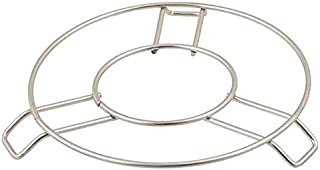 MSM Trendz Heavy Duty Stainless Steel Round Cooker Steamer Pot Steaming Tray Rack Stand