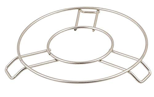 Aric Stainless Steel Round Cooker Steamer Pot Steaming Tray Rack Stand Pack of 1