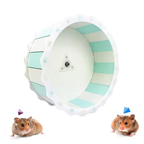 KANKOO laufrad für Hamster hamsterrad Zwerg Hamster Rad Hamster stille Rad Hamster übung Ball Stille Hamster Rad Hamster Rad stille Spinner Hamster mintgreenwhite