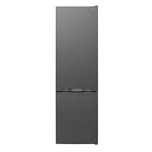 Sharp SJ-BA05IMXLE-EU Kühl-Gefrier-Kombination,E,180 cm Höhe,195 L Kühlteil,75 L Gefrierteil,NoFrost,Elektronische Steuerung,ZeroDegreeZone,Silber