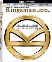Kingsman: 2-Movie Collection (Steelbook) [4K Ultra HD + Blu-ray + Digital HD]