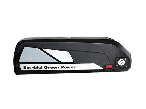 Extrbici 1000 W 48 V 13 Ah li-batteria per Cyrusher XF800 4.0 fat pneumatico bici elettrica, xf800-battery-white, White--Con caricatore