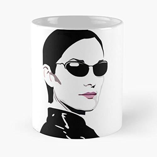Trinity The Ma-trix Carrie Anne Moss Classic Mug