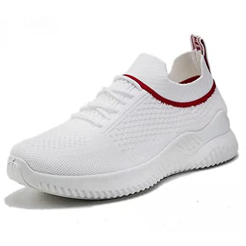 Women's Fashion Sneakers Platform Slip-on ker Women's Kids Garden Clogs Slip on Water Shoes Non Slip Shoes Women Fashion Sneakers for Women Non Slip Shoe Grip(White, 7.5)