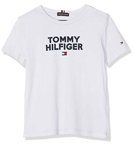 Tommy Hilfiger Baby Flamingo Tee S//S Maglietta Unisex-Bimbi