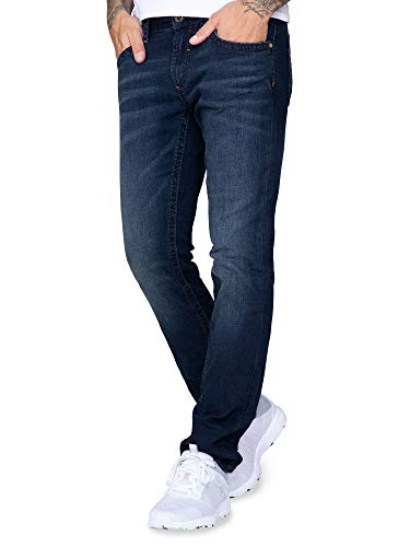 Camp David Herren Denim NI:CO Blue Black Vintage, Regular Fit