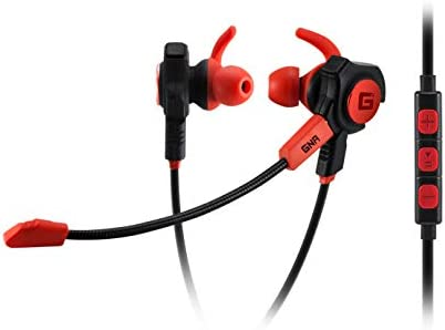 Gaming Earbuds with detachable boom mic and in line mic In Ear Noise Isolation Great for Switch product image
