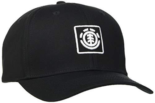 Element Herren Snapback-Kappe Treelogo - Snapback-Kappe für Männer, Flint Black, One Size, U5CTB8, einheitsgröße
