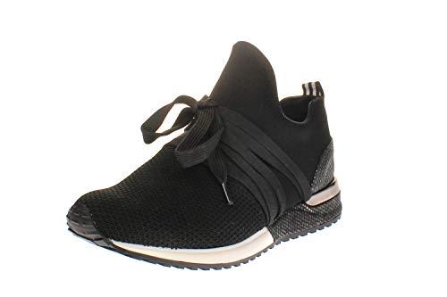 La Strada 1804297 - Damen Schuhe Freizeitschuhe - 4501-black-knitted, Größe:36 EU