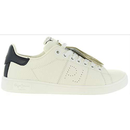 Sneaker Basic Pepe Jeans Weiß Brompton 36 Weiß
