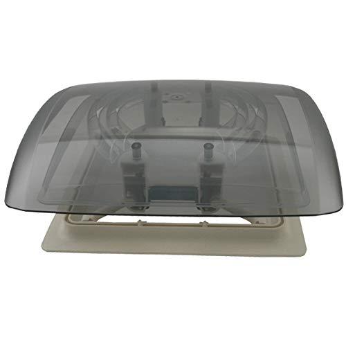 MPK Vision Vent S eco getönte Klarglas Dachluke Dachfenster Dachhaube 28 x 28 mit Rollo + Netz