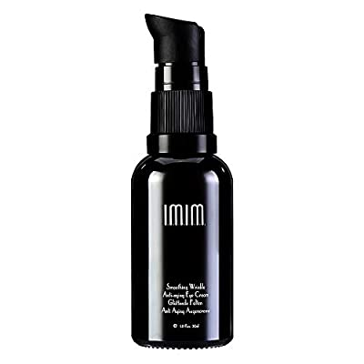 IMIM Anti Aging Eye Cream for Dark Circles Puffiness Eye Bags Removal 30ml Anti Wrinkle & Firming Eye Cream with Hyaluronic Acid, Q10, Squalane, Acetyl Hexapeptide-8 by IMIM