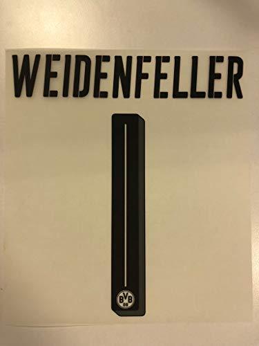 Flock Original BVB Borussia Dortmund Trikot 20cm - WEIDENFELLER 1