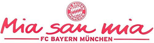 FC Bayern München Heckscheibenaufkleber - Mia san mia - Aufkleber, Autoaufkleber, Sticker FCB - Plus Lesezeichen I Love München