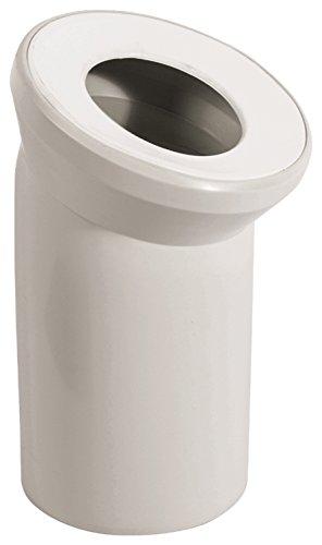 Sanitop-Wingenroth 21642 5 Anschlussbogen für Stand WC | Manhattan | 22 Grad | Toilette