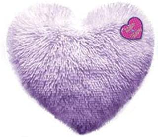 Tri-Coastal Design Round Heart Shaped Stuffed Cushion Soft Plush Pillow for Bed, Sofa or Chair 14