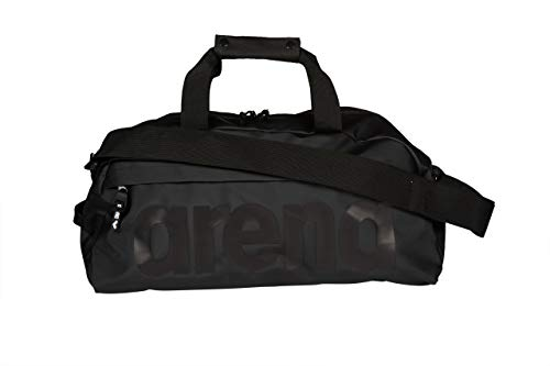 Arena volwassenen sporttas Duffle Team 25L All Black, one size