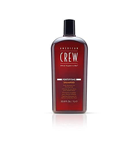American Crew Fortifying Shampoo Uomo Men Haircare Rinfrescante per Uso Quotidiano per Capelli Sottili - 1000 ml
