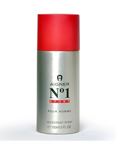 Aigner No. 1 Sport homme/men, Deodorant Spray 150 ml, 1er Pack (1 x 0.16 kg)