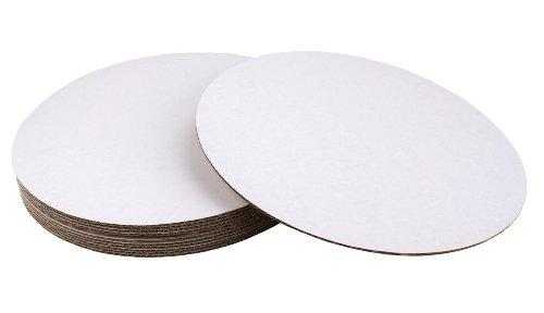 Runde beschichtete Tortenplatte, 20 cm, 12 Stück