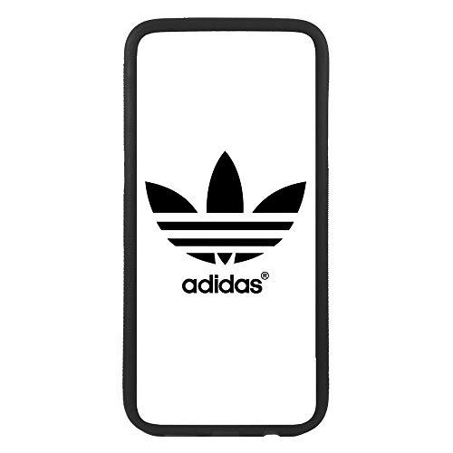 Funda Carcasa de móvil para Apple iPhone 5 5s Logotipo Adidas Logo Antiguo TPU Borde Negro