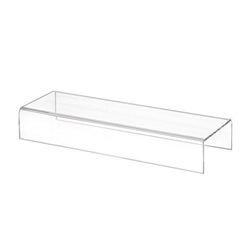 Zeigis Dekobrücke/U-Ständer/Präsentationsständer 300x50x100mm aus Acrylglas aus Plexiglas