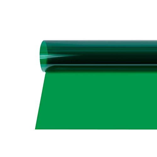 Selens 40x50cm Farbfolie Farbfilter Professionel Transparente Farbkorrektur Beleuchtung Gelfilter Blitz Folien Farbfolien für Foto Studio Strobe Blitz Flash Fotostudio Fotografie Grün