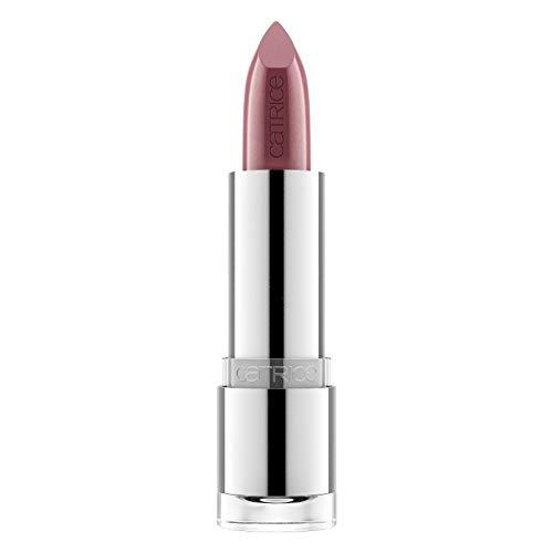 Catrice Prisma Chrome Lipstick, Lippenstift, Nr. 100 Rosewood Romance, nude, holographisch, ölfrei, ohne Alkohol, enthält Karmin (3,5g)