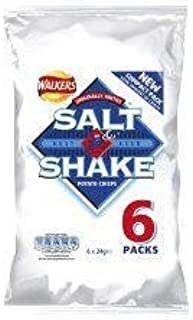 Walkers Salt & Shake Crisps 6 X 30G