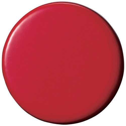 両面強力カラーマグネット30(コーティングタイプ) 赤