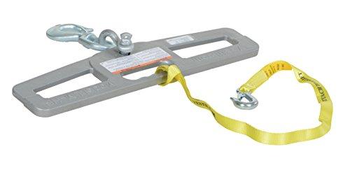 Vestil LM-HP6-S Swivel Lift Master Hook Plate, 24' Width, 6' Height, 6000 lbs Capacity