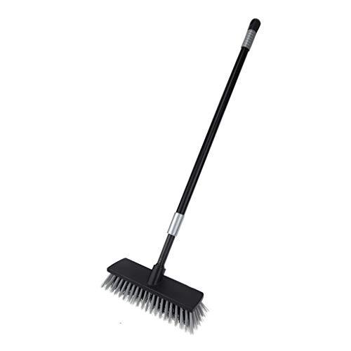 Duurzame borstel voor het reinigen van vloerbedekking voor de badkamer, telescoopsteel met lange handgreep, borstel voor het reinigen van de badkamer.